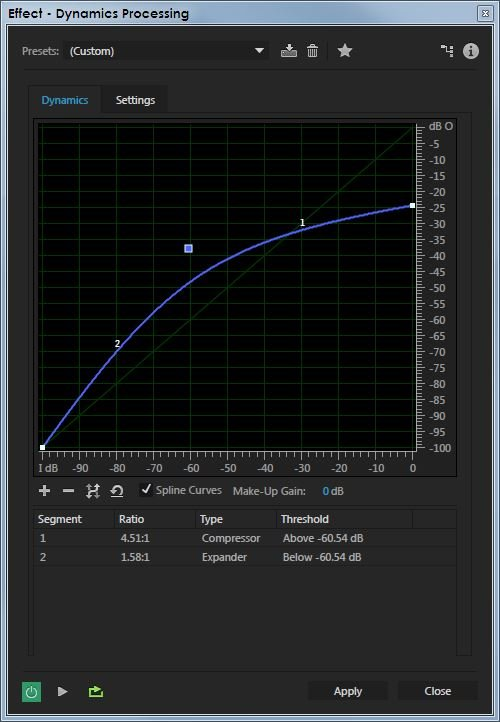 dynamics processor - Using a Compressor for Forensic Audio Enhancement